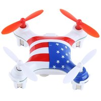 2 Styles V676 WLtoys 2 4G 4CH Mini UFO Drone Night Controlled Lighting Remote Control 3D