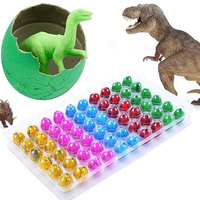 60 Pcs Cute Magic Hatching Growing Pet Dinosaur Eggs Inflatable Toys For Kids Store 34