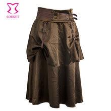 f1ccf2898 Compra brown satin skirt y disfruta del envío gratuito en AliExpress.com