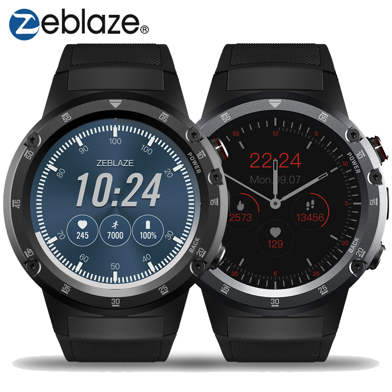 Zeblaze THOR 4 Plus 4G Smart Watch Phone MTK6739 Android 7.1.1 Quad Core 1GB+16GB 5MP Camera 1.4″ AMOLED Display SmartWatch Men