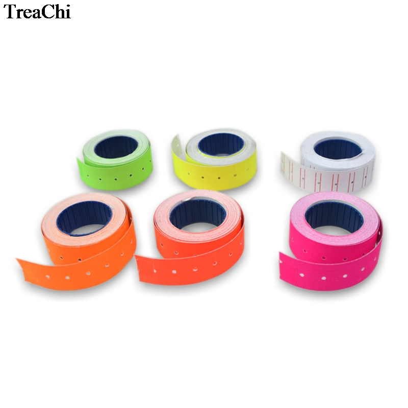 1Roll/500Pcs Colorful Paper Adhesive Price Tag MX-5500 Price Tag Gun Sticker Jewelry Price Tag  Label Mark