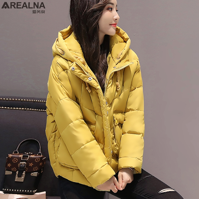 2017 New Winter Jacket Women coat Fashion loose Hooded Thicken Warm Cotton Padded Female Parkas plus size womens winter jackets 2015 new hot winter thicken warm woman down jacket coat parkas outwewear hooded loose brand luxury high end mid long plus size l