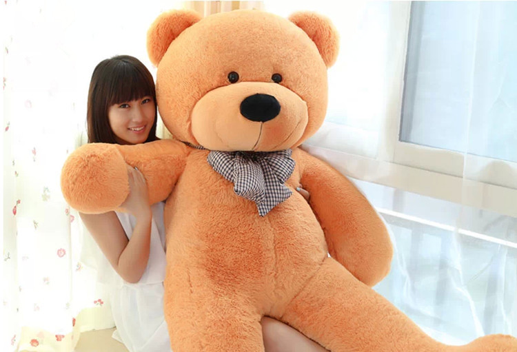 100cm teddy bear giant bear stuffed toy doll lift size teddy bear plush toy best toy for girlfriend stuffed animal 44 cm plush standing cow toy simulation dairy cattle doll great gift w501