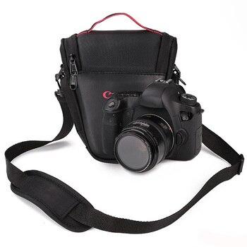 Bolsa triangular para cámara Canon NIKON SONY DSLR 1300D 1200D 1100D 750D...