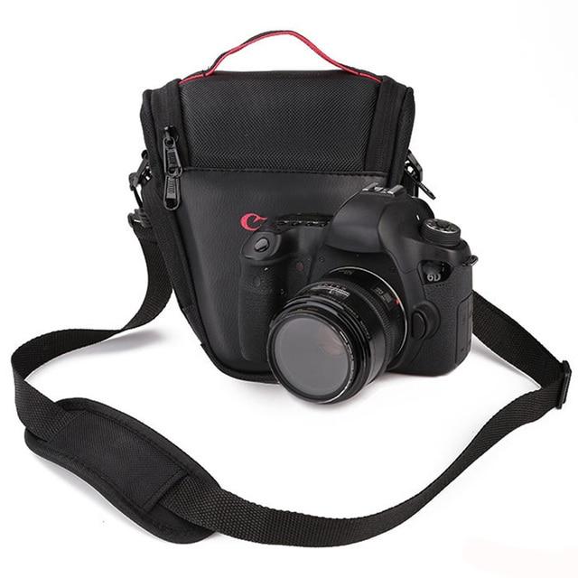 สามเหลี่ยมกระเป๋ากล้องสำหรับ Canon NIKON SONY DSLR 1300D 1200D 1100D 750D 600D 650D 550D 60D 70D SX50 SX60 SX30 T5i T6i 100D