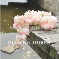 INDIGO- Wholesale 100pcs Cherry Blossom (192pcs flower/stem)Free Shipping Flower Artificial Wedding Flower Party Event Floral