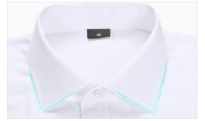 Dudalina 19 Men Casual Long Sleeved Solid shirt Slim Fit Male Social Business Dress Shirt Brand Men Clothing Soft Comfortable 5