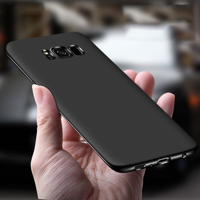 760284f589f For Samsung Galaxy Note 8 Note5 Luxury Scrub 360 Full Fundas Ultra Thin  Matte Hard PC Back Cover For Samsung S8 Plus S6 S7 Edge