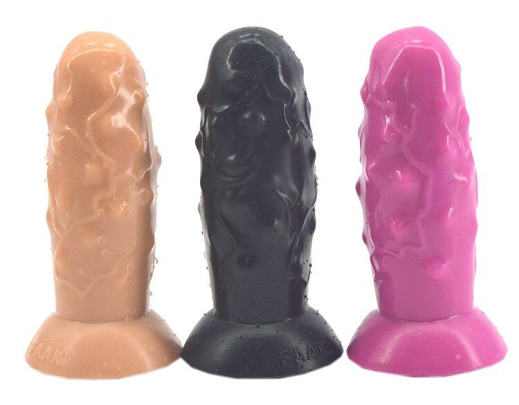 Nouveau Faak 17.4*6 cm Énorme Anal Plug, bouchons en Bout de Silicone Masturbateur Énormes Anal Gode Pas Vibrateurs Grand Anal Jouets Gay Sex Toys.
