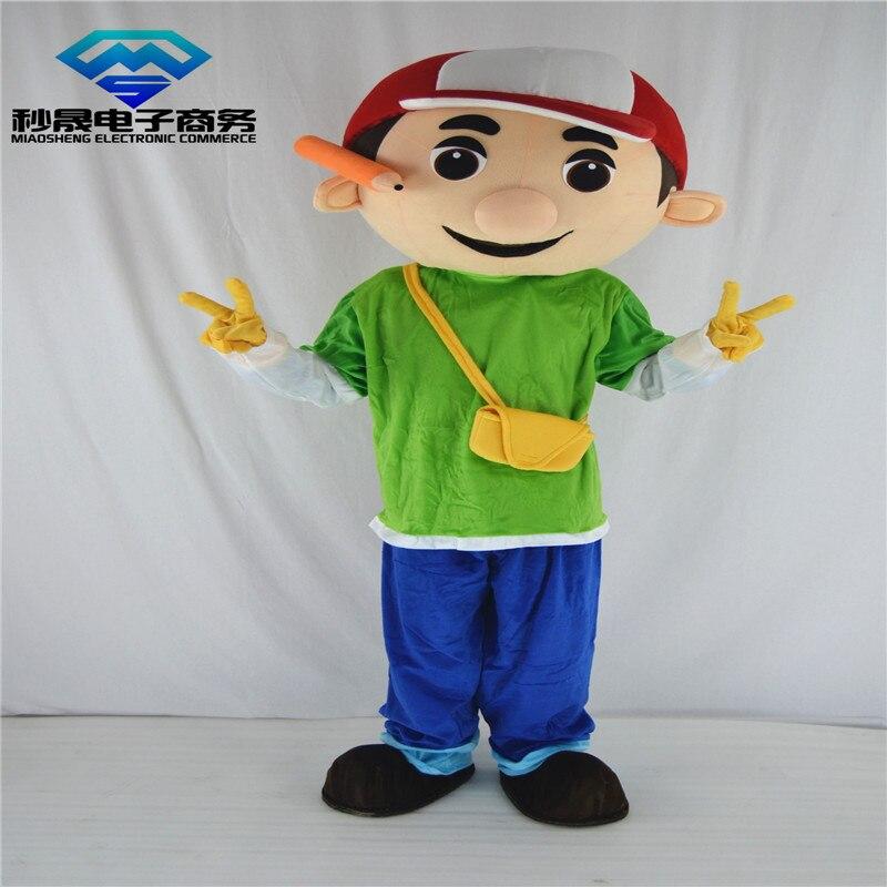 61bd61bb43 Costume della mascotte adulto costume parade Mani Piccolo Ragazzo Costume  Formato Adulto