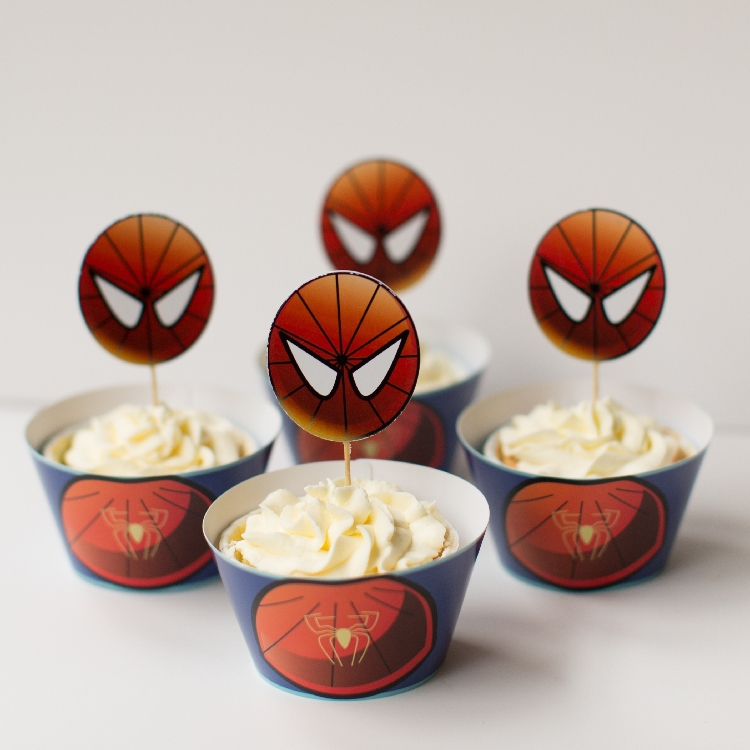 Superhero Comics Party Supplies - Snack Party Pack