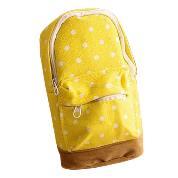 Cosmetic Makeup Pencil Case Storage Box Bag Wash Toiletry Pouch Travel Bag Purse Yellow spark storage bag portable carrying case storage box for spark drone accessories can put remote control battery and other parts