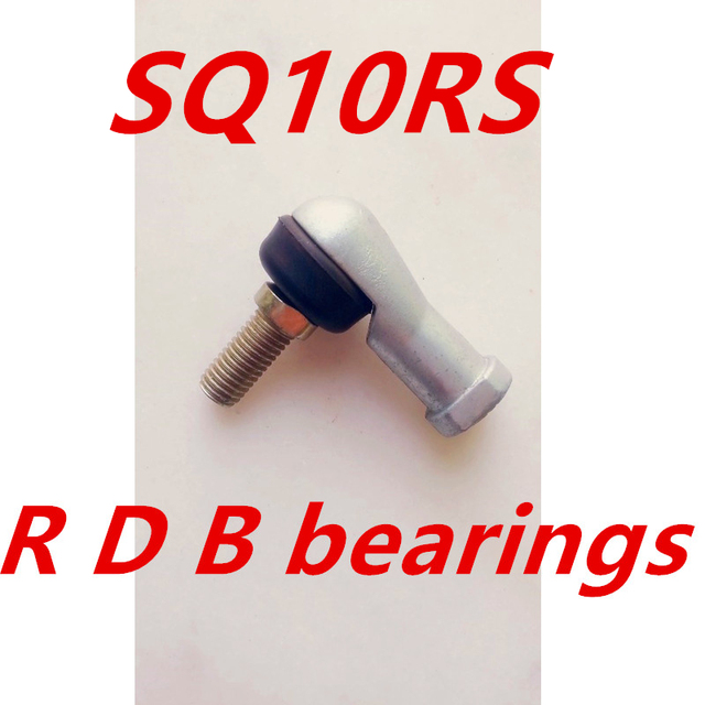 Gratis Verzending 4 stks/partij SQ10 RS 10mm Kogelgewricht Rod End Rechterhand Spoorstanguiteinden Lager SQ10RS