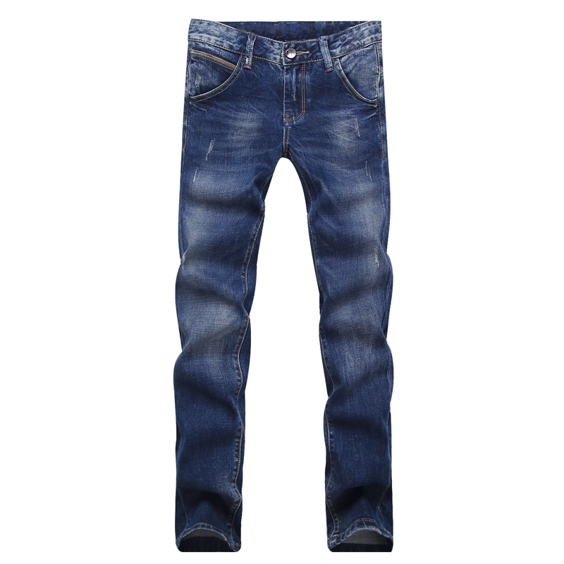 New Arrived 2016 Autumn Winter Cotton Men's Jeans Skinny Denim Biker Jeans Slim Trousers Fashion Bule Pencil Pant For Male men jean new 2017 slim skinny denim biker pant boyfriend hip hop trousers bule color fashion brand jeans for male e035