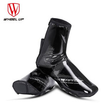 WHEEL UP Warm Cycling Shoes Cover MTB Rain Shoe Covers Reflective Thermal Windproof Bicycle Overshoes