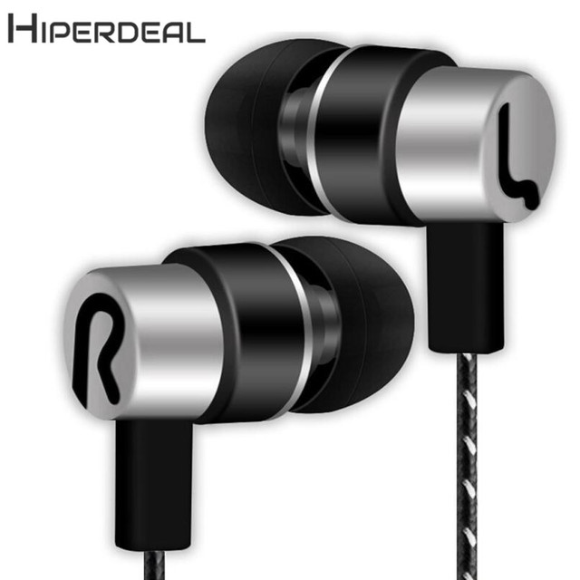 HIPERDEAL New  Universal 3.5mm In-Ear Stereo Earbuds Earphone For Cell Phone 18Jan24 Drop Ship 1