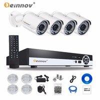 EINNOV 4CH CCTV System Wireless 720P NVR 1PCS 2PCS 1 0MP IR Outdoor P2P Wifi IP