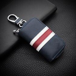 Пояса из натуральной кожи Ключи чехол для Audi A4L A5 A6L A7 A8L Q5 Q3 A1 A3 Q7 авто Обложка Key Holder ключ сумка протектор Интимные аксессуары
