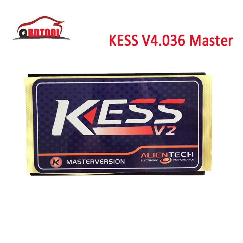 Цена за 2016 без маркер для чтения Limited KESS V2 V2.15 V2.23 V2.28 V2.31 мастер версия микропрограммы V4.036 KESS V2 основной блок без Кабели