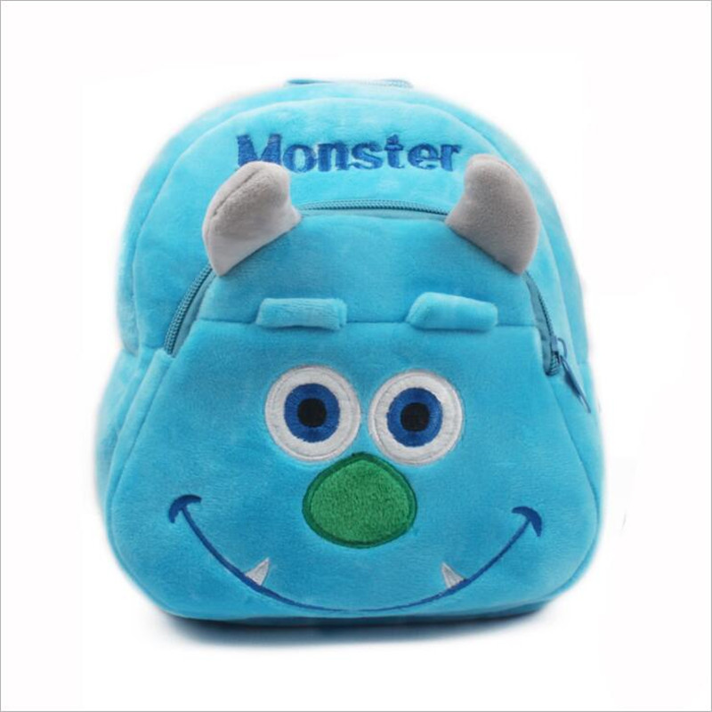 3D-Cartoon-Doraemon-Kitty-Captain-Pikachu-Monster-Plush-Backpackers-Children-School-Bags-Christmas-Gifts-2
