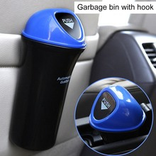 цена на Car Trash Universal Auto Garbage Storage Bucket Door Seat Rubbish Organizer Storage Box Interior Accessories Car Trash Bin