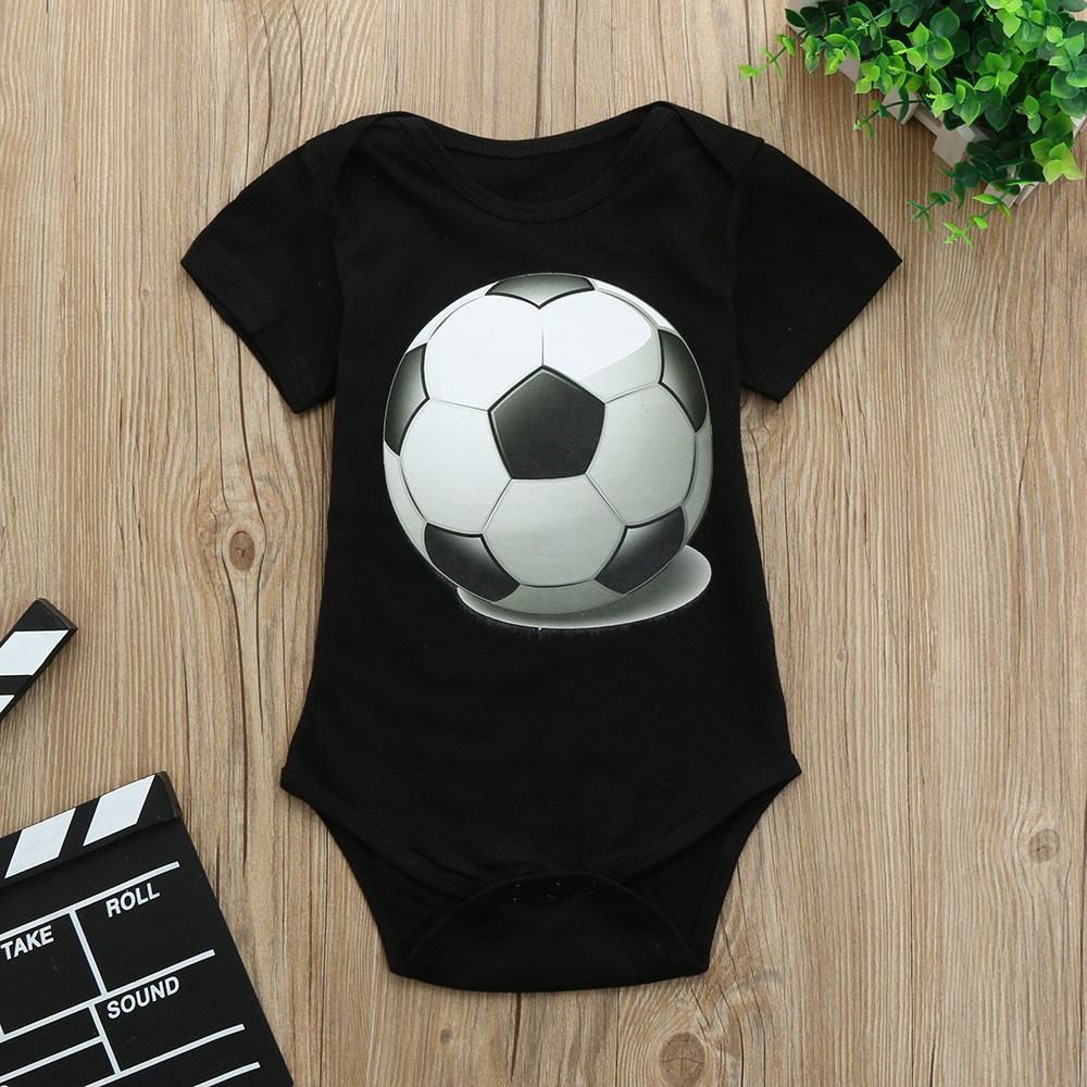 Body Boy Cotton Bodysuit Short Sleeve Funny Newborn Football Print Twins Bodysuit I Love Papa Body Dla Dziecka Dropshipping 2 Спортивный бальный танец