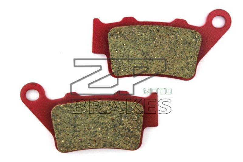 Ceramic Composite brake pads Fit For Rear Motocross KTM 400 EGS/LSE/SC (LC 4 Enduro) 1996-1999 Motorcycle Accessories oem  motorcycle front and rear brake pads for ktm egs lse exc 400 all models 1998 2006 black brake disc pad