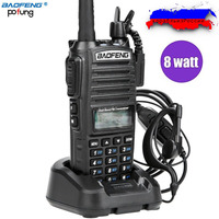 Baofeng UV 82 8W High Power 1800mAh Two Way Radio 8W 4W 1W Portable Radio Dual