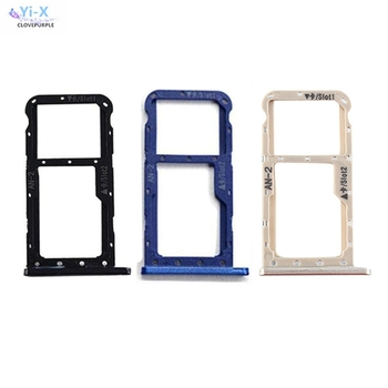 10pcs/lot New For Huawei P20 Lite SIM Card Tray Micro SD Card Holder Slot Adapter Parts