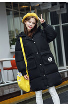 2016 New Winter outerwear wadded font b jacket b font female long cotton padded font b