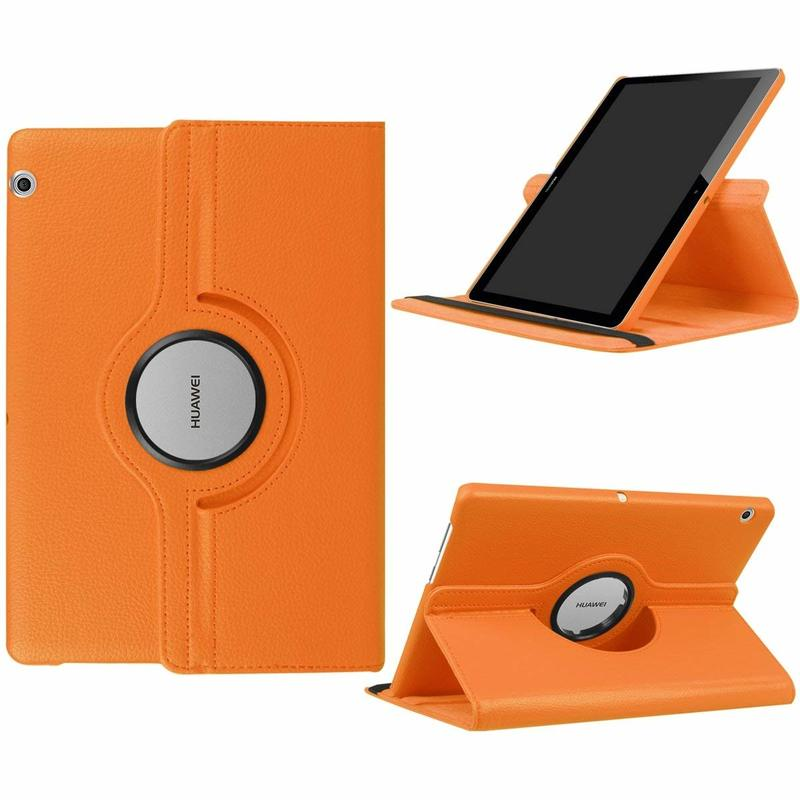 360 rotating PU leather Cover Case For Huawei MediaPad T3 10 9.6 AGS-W09 AGS-L09 AGS-L03 Tablet case Honor Play Pad 2 9.6 Glass case for huawei honor 7x shockproof with stand 360 rotation back cover contrast color hard pc