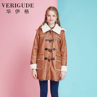 Veri Gude Women Hooded Coat Faux Leather Fleece Lined Warm Jacket For Winter High Quality