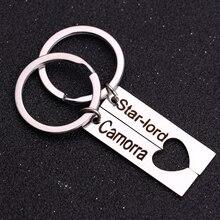 Custom Hand-Engraved Stainless Steel Calendar Key Chain