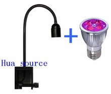 Full spectrum led Aquarium lamp LED Grow light with gooseneck Lamp clamp Spot Light for Freshwater Marine Coral Reef Plant