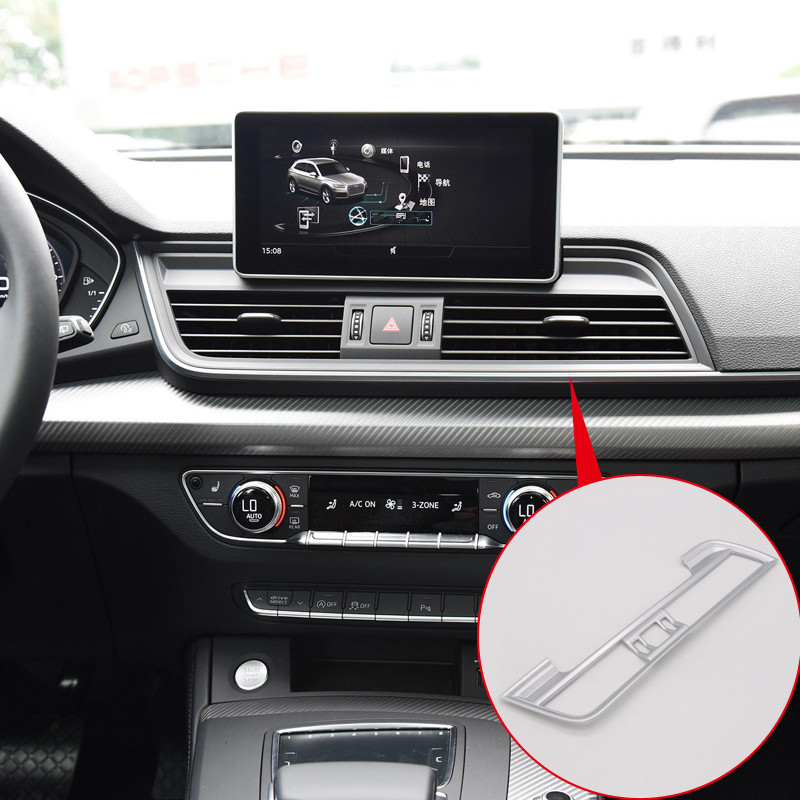 For Audi Q5 2018 Interior Central Console Air Outlet Vent