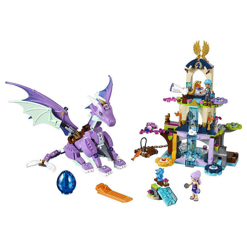 Lepin 41178 Bela 10549 Pogo The Dragon Sanctuary Girls Elf Elves Model Building Blocks Bricks Toys Compatible Legoe T chris wormell george and the dragon
