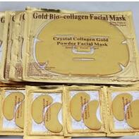 Péče o oči a oči! Crystal Collagen Gold Prášek na obličej a oči 10pair maska na oči plus 10pc maska na tvář s dopravou zdarma