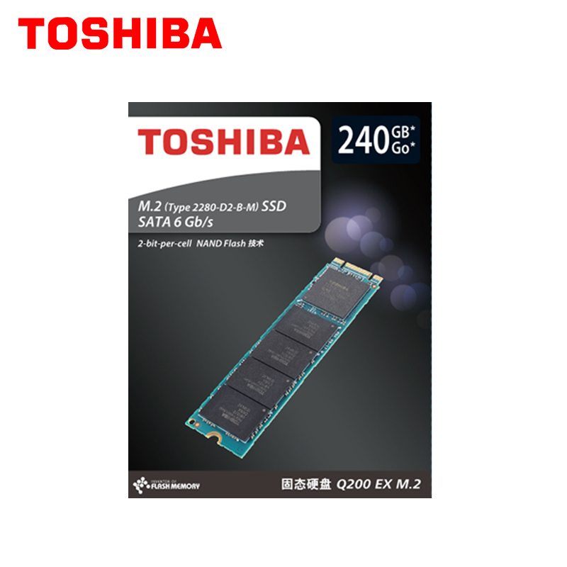 TOSHIBA M.2 2280 240GB NGFF SSD Disk 240 Gb  Internal Solid State Drive Disk SATA 6Gb/s  550MB/S for Laptop Desktop PCTOSHIBA M.2 2280 240GB NGFF SSD Disk 240 Gb  Internal Solid State Drive Disk SATA 6Gb/s  550MB/S for Laptop Desktop PC