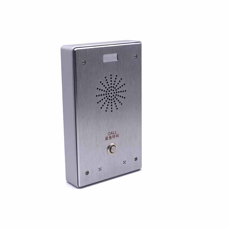 IP door intercom system audio door phone support SIP protocol 2018 new intercom sip door phone with 48v poe function
