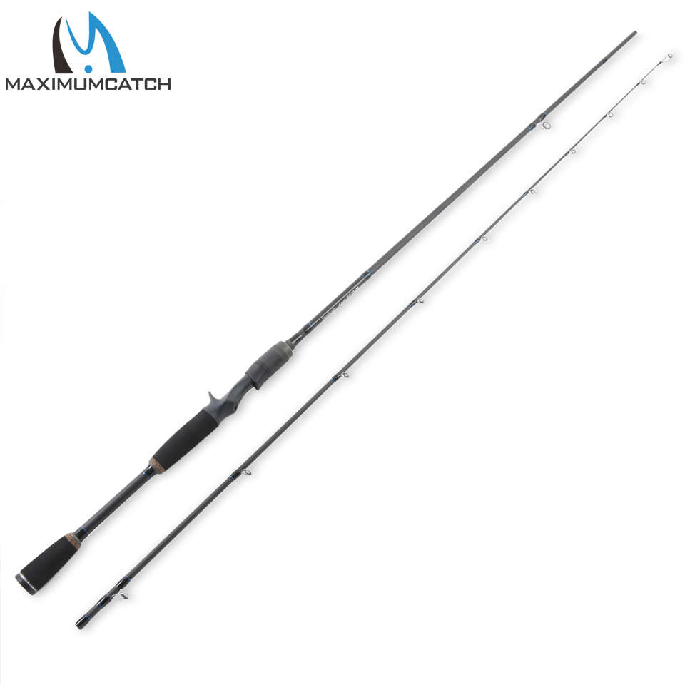 Maximumcatch Lure Casting Fishing Rod 7/2.1M Line 12-20lbs Lure 7g-28g Trigger Grip Fishing Rod Fast 2 Pieces For Lure Fishing