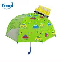 Yeni Güzel Çocuk Şemsiye 3D Yaratıcı Hayvanlar Karikatür Şemsiye Erkek Kız Öğrenci Anaokulu Çocuklar Için Yağmurlu Şemsiye
