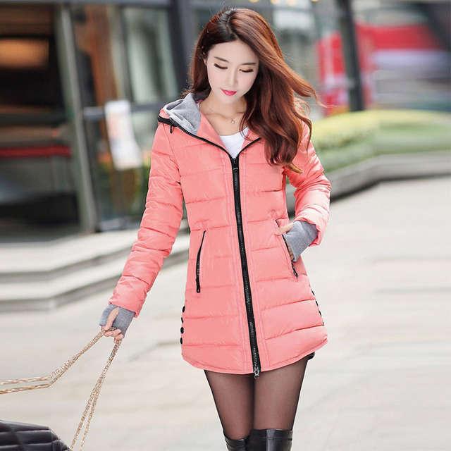 267f68168095 Online Shop 2017 winter jacket women wadded jacket female outerwear ...