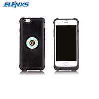 ELENXS 360 Degree Rotation Wire Smart Charging Stand Car Phone Holder With Case Cover For IPhone