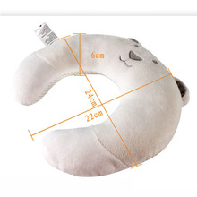 Cute Neck Baby Pillow Children Car Headrest Pillow Suit Baby Pillow infant Cartoon Travel Pillow Protection coussin nuque bebe