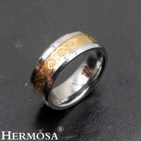 Personality Ring TungstenSteel Ring Women Men Jewelry Charming Band Ring Size 7 8 9 10 11