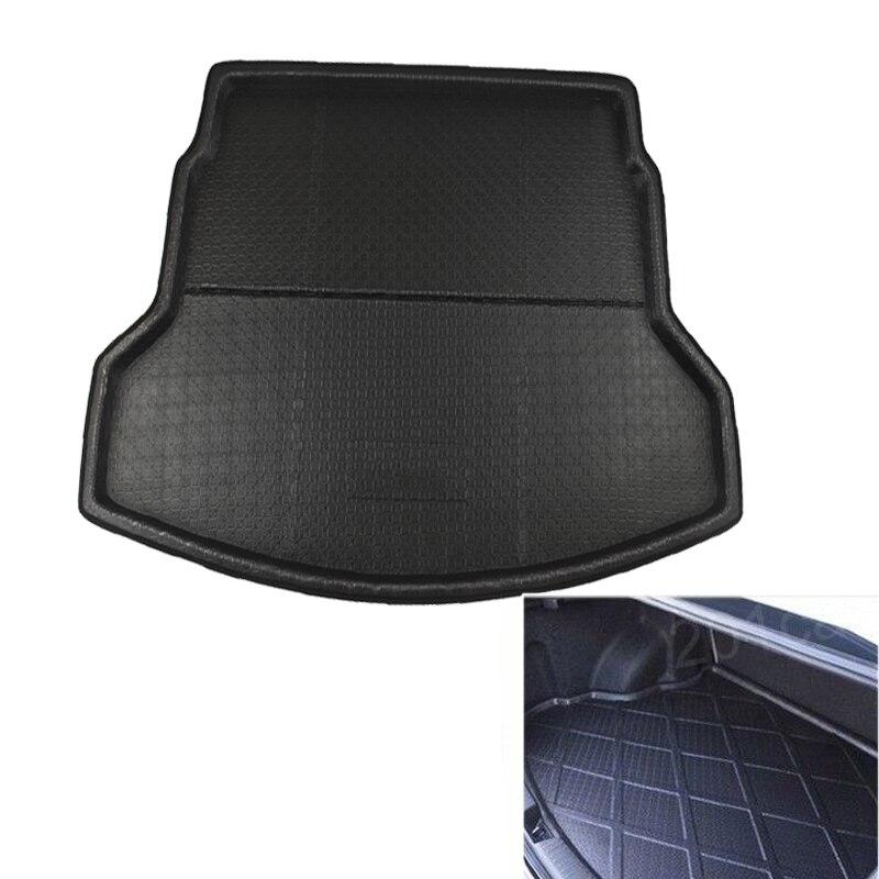 Hsanzeo Rear Trunk Mat Boot Liner Tray Cargo Floor For Honda CRV CR-V MK4 2012-2016 2013 2014 2015