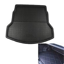 цена на Hsanzeo Rear Trunk Mat Boot Liner Tray Cargo Trunk Floor Mat For Honda CRV CR-V MK4 2012-2016 2013 2014 2015