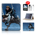 Cute Cartoon Pattern Tablet Accessories Smart Cover Case For Ipad Mini 3 Case Minion Leather Case Ipad Mini Accessories