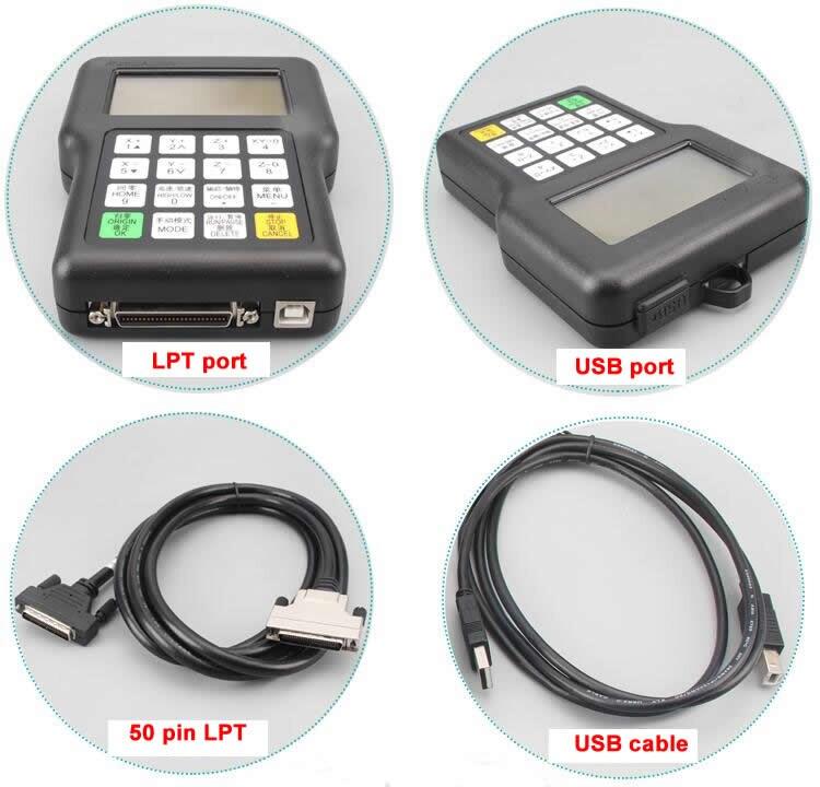 Versão de atualização A11 RichAuto CNC controlador DSP A11S A11E 3 eixo, substituir o sistema DSP 0501 controlador para cnc router DSP