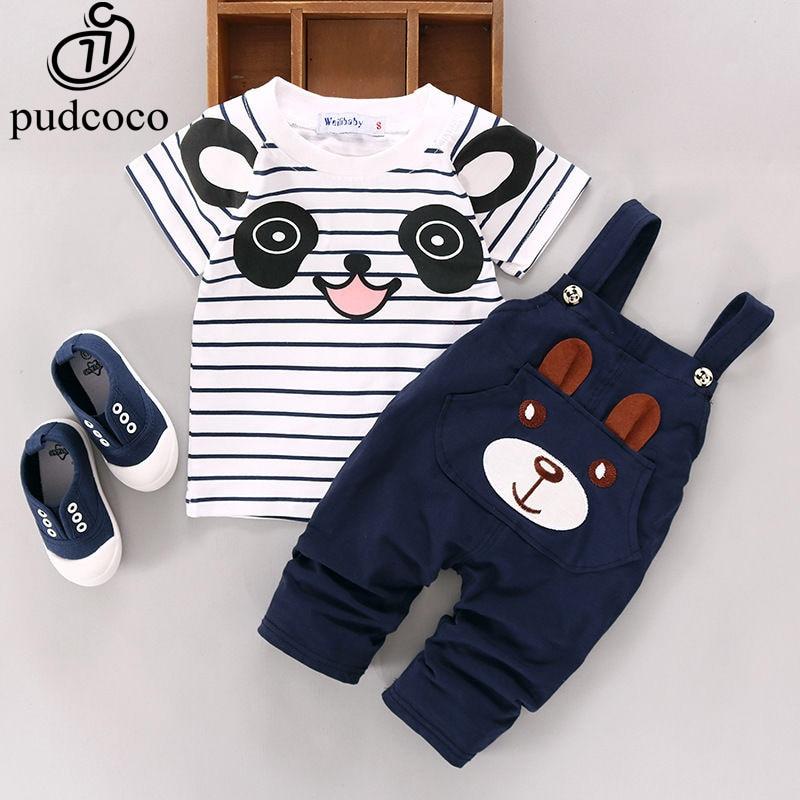 084b47c134f3 TANGUOANT Hot Sale Brand Boys Clothing Children Summer Boys Clothes Cartoon Kids  Boy Clothing Set T-shit+Pants Cotton